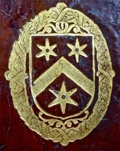 Armorice chronologia CABOUN (Fr.Camboun Lat. Capoun Deu. Kapoun Eng. Cabourn)= Cabon (chapon)= Capon= Cambon (gambon) A complete body of heraldry : containing, an historical enquiry into the origin of armories, and the rise and progress of heraldry, considered as a science ...