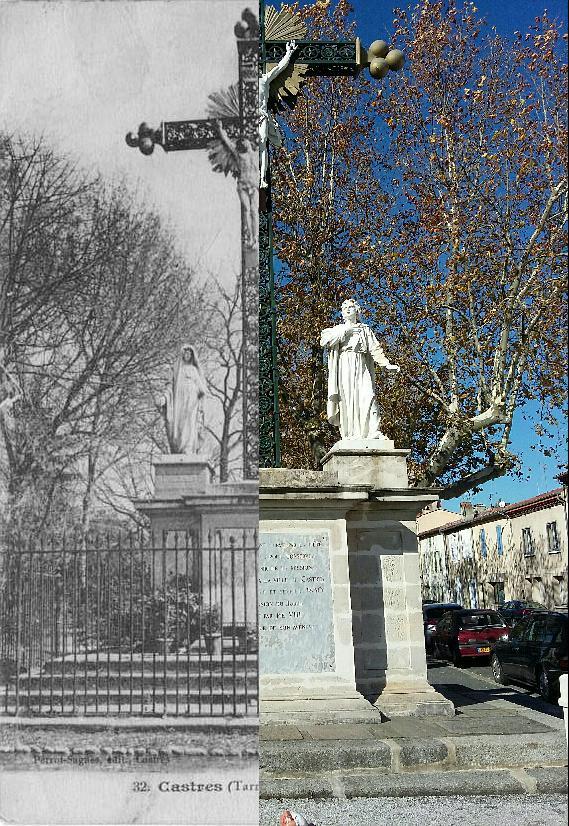 Castres - La croix du Mail